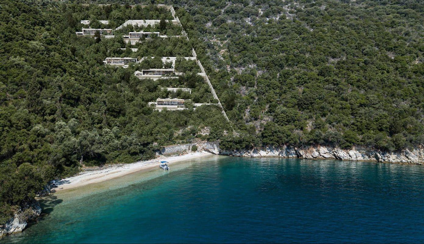 Complex of Luxury Seafront Villas Lefkada