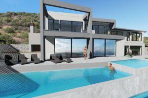 New Villa in Lefkada Greece for sale, Lefkada Island properties , Lefkada Greece houses for sale