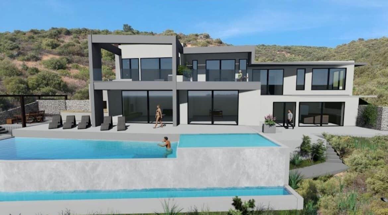 New Villa in Lefkada Greece for sale, Lefkada Island properties , Lefkada Greece houses for sale 12
