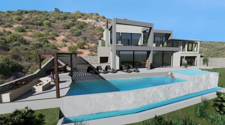 New Villa in Lefkada Greece for sale, Lefkada Island properties , Lefkada Greece houses for sale 2