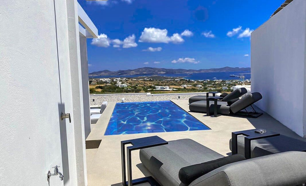 New villa for sale in Paros Cyclades Greece, Paros Properties for sale . Houses Cyclades Greece, Properties Greek Islands 15