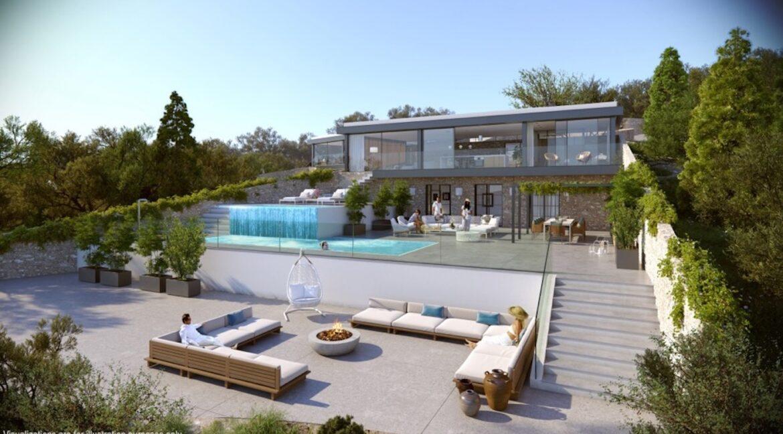 Seafront Villa Lefkada, the last one available. Luxury Villa under construction1