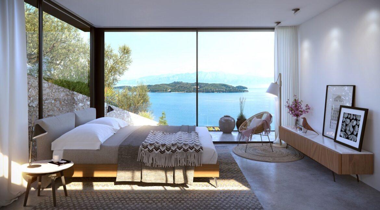 Seafront Villa Lefkada, the last one available. Luxury Villa under construction3