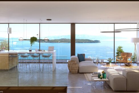 Seafront Villa Lefkada, the last one available. Luxury Villa under construction4