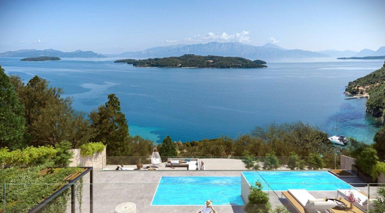 Seafront Villa Lefkada, the last one available. Luxury Villa under construction6