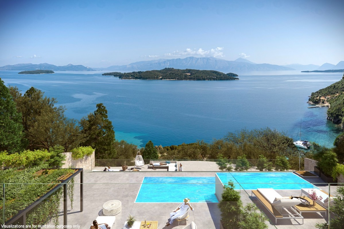 Seafront Villa Lefkada, the last one available
