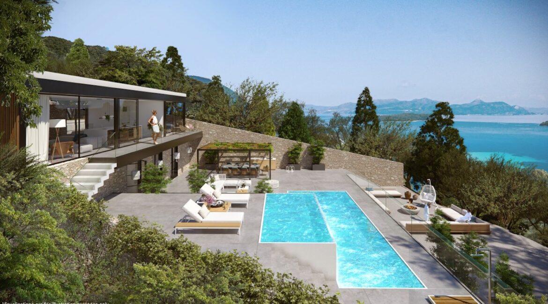 Seafront Villa Lefkada, the last one available. Luxury Villa under construction7