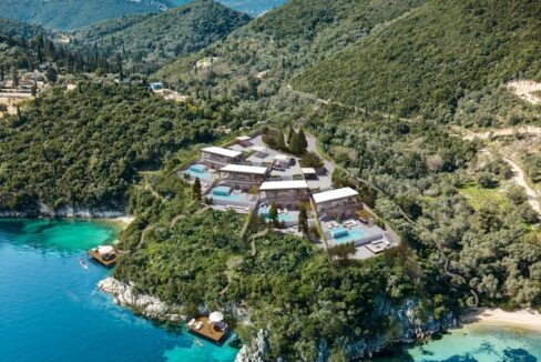 Seafront Villa Lefkada, the last one available. Luxury Villa under construction8