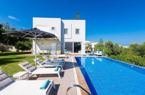 Villa With Pool in Rethymno Crete for Sale, Houses Crete Greece, Property in Crete Greece for Sale