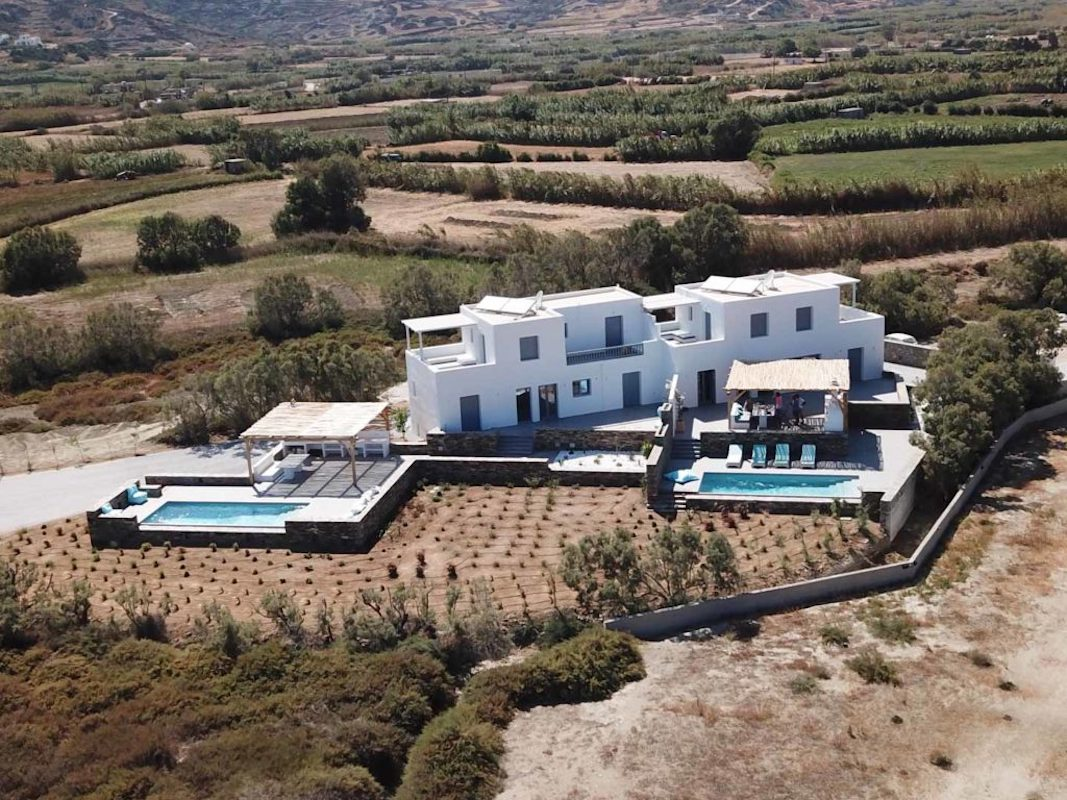 Villa on The Beach in Naxos Island
