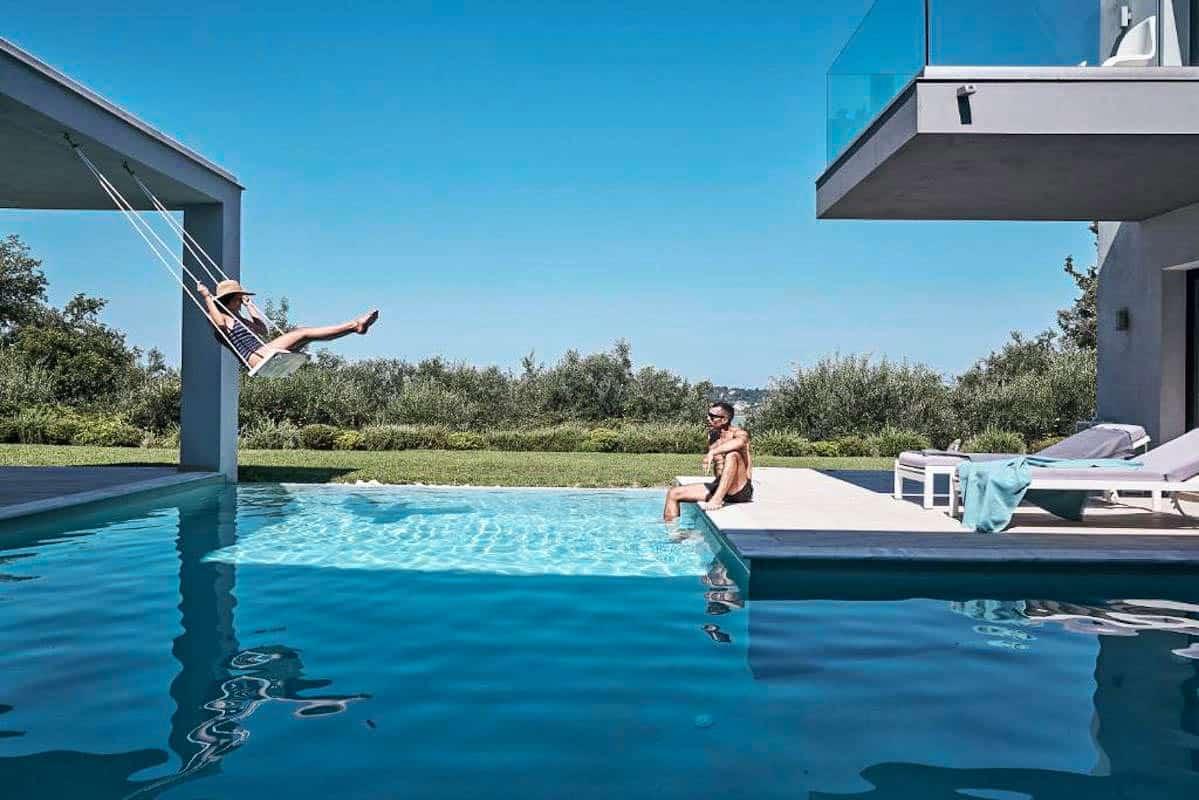 Modern Luxury Villa at Corfu Island