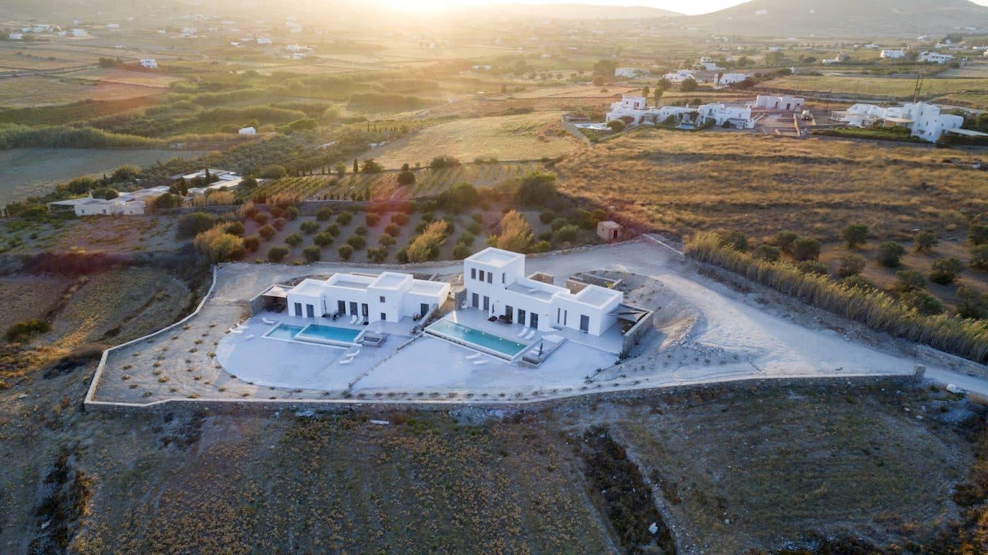 2 Excellent Properties for sale in Paros Greece