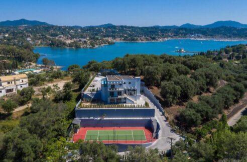 Sea View Villa for Sale in Corfu Island Greece. Luxury Property Corfu Greece