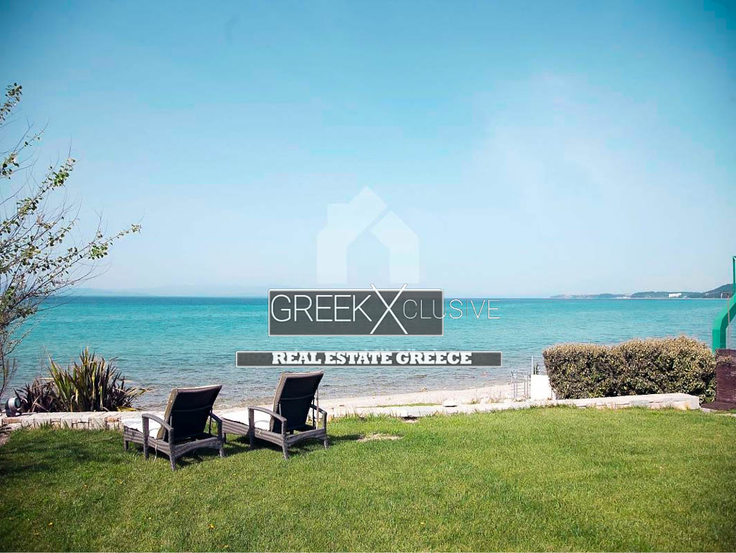 Seafront Villa Kriopigi Halkidiki Kassandra