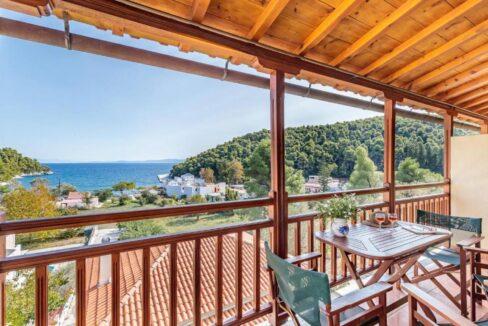 Apartments Hotel near the sea in Skopelos Greek Island , Skopelos Hotels for Sale, Greek Island hotel for Sale 1