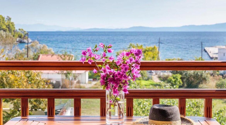 Apartments Hotel near the sea in Skopelos Greek Island , Skopelos Hotels for Sale, Greek Island hotel for Sale