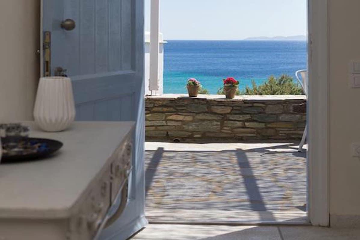 Beach House in Tinos island Cyclades Greece