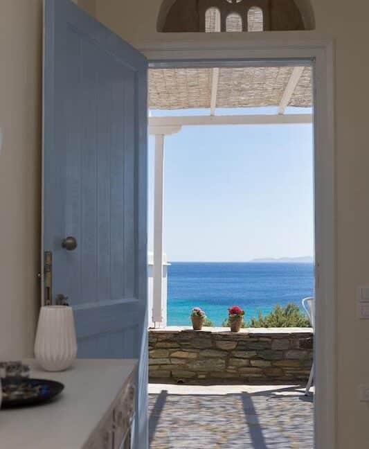 Beach House in Tinos island Cyclades Greece, Homes in Cyclades Greece, Seafront Homes Greek Islands 1
