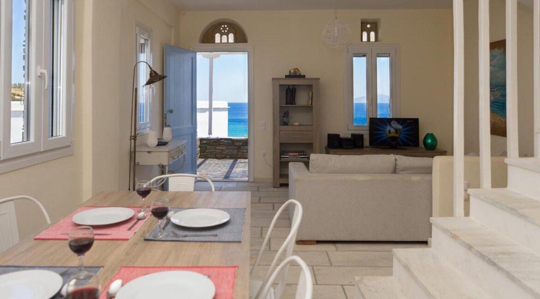 Beach House in Tinos island Cyclades Greece, Homes in Cyclades Greece, Seafront Homes Greek Islands 2
