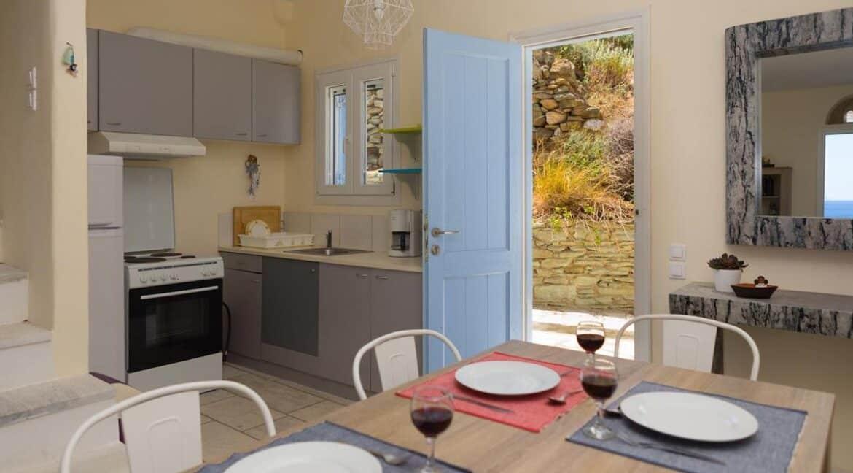 Beach House in Tinos island Cyclades Greece, Homes in Cyclades Greece, Seafront Homes Greek Islands 3