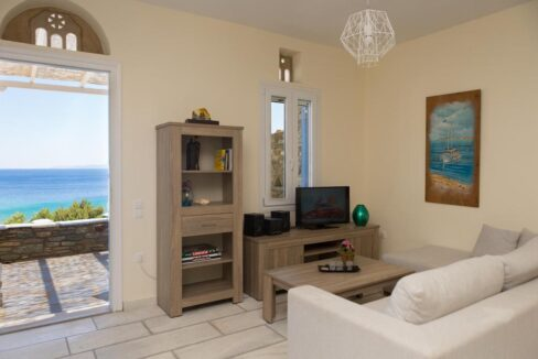 Beach House in Tinos island Cyclades Greece, Homes in Cyclades Greece, Seafront Homes Greek Islands 4