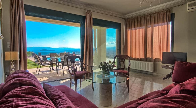 Luxury Villa with Panoramic Sea View Chania Crete for sale, Luxury Estates Crete Greece Properties Crete Greece for Sale 11