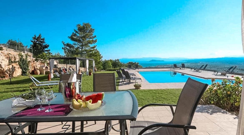 Luxury Villa with Panoramic Sea View Chania Crete for sale, Luxury Estates Crete Greece Properties Crete Greece for Sale 12
