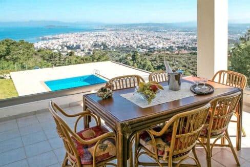 Luxury Villa with Panoramic Sea View Chania Crete for sale, Luxury Estates Crete Greece Properties Crete Greece for Sale 18
