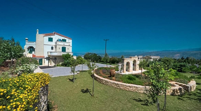 Luxury Villa with Panoramic Sea View Chania Crete for sale, Luxury Estates Crete Greece Properties Crete Greece for Sale 19