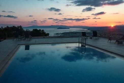 Luxury Villa with Panoramic Sea View Chania Crete for sale, Luxury Estates Crete Greece Properties Crete Greece for Sale 2
