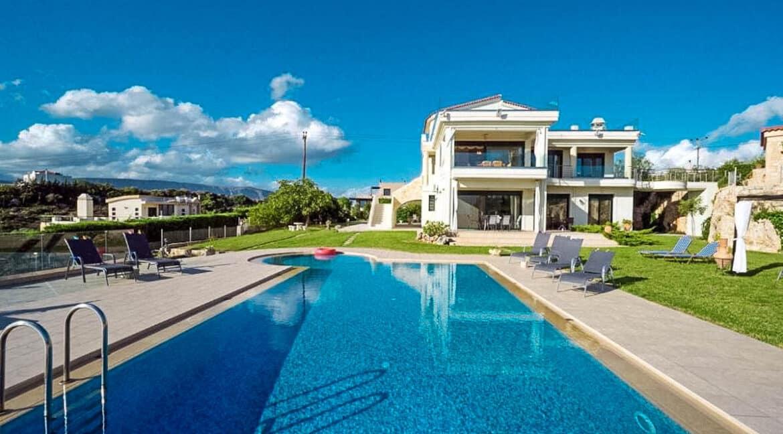 Luxury Villa with Panoramic Sea View Chania Crete for sale, Luxury Estates Crete Greece Properties Crete Greece for Sale 21