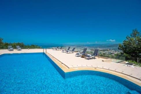 Luxury Villa with Panoramic Sea View Chania Crete for sale, Luxury Estates Crete Greece Properties Crete Greece for Sale 22