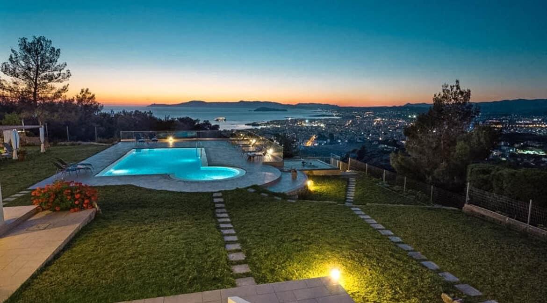 Luxury Villa with Panoramic Sea View Chania Crete for sale, Luxury Estates Crete Greece Properties Crete Greece for Sale 4