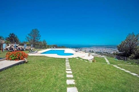 Luxury Villa with Panoramic Sea View Chania Crete for sale, Luxury Estates Crete Greece Properties Crete Greece for Sale 7