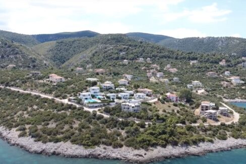 Sea View Villa in Peloponnese, 1 hour from Athens, Seafront Properties in Greece, seafront houses Mainland Greece 1