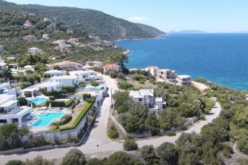 Sea View Villa in Peloponnese, 1 hour from Athens, Seafront Properties in Greece, seafront houses Mainland Greece 2