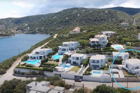 Sea View Villa in Peloponnese, 1 hour from Athens, Seafront Properties in Greece, seafront houses Mainland Greece 3