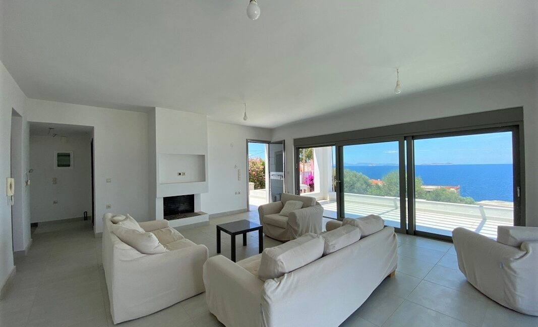 Sea View Villa in Peloponnese, 1 hour from Athens, Seafront Properties in Greece, seafront houses Mainland Greece 5