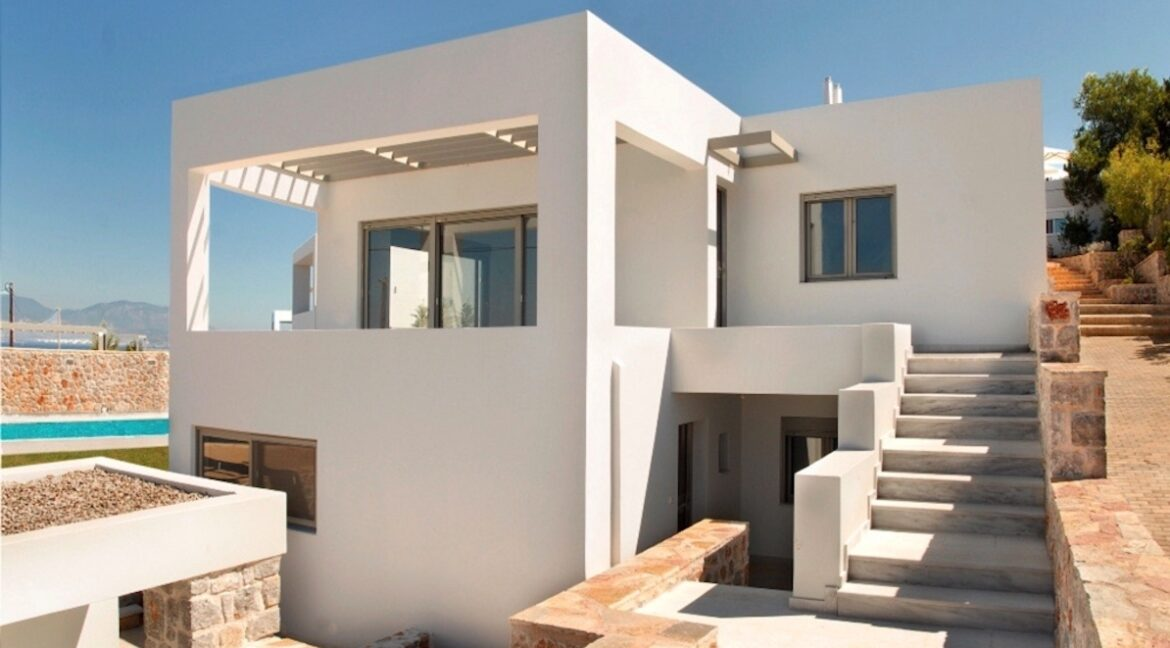 Sea View Villa in Peloponnese, 1 hour from Athens, Seafront Properties in Greece, seafront houses Mainland Greece 6