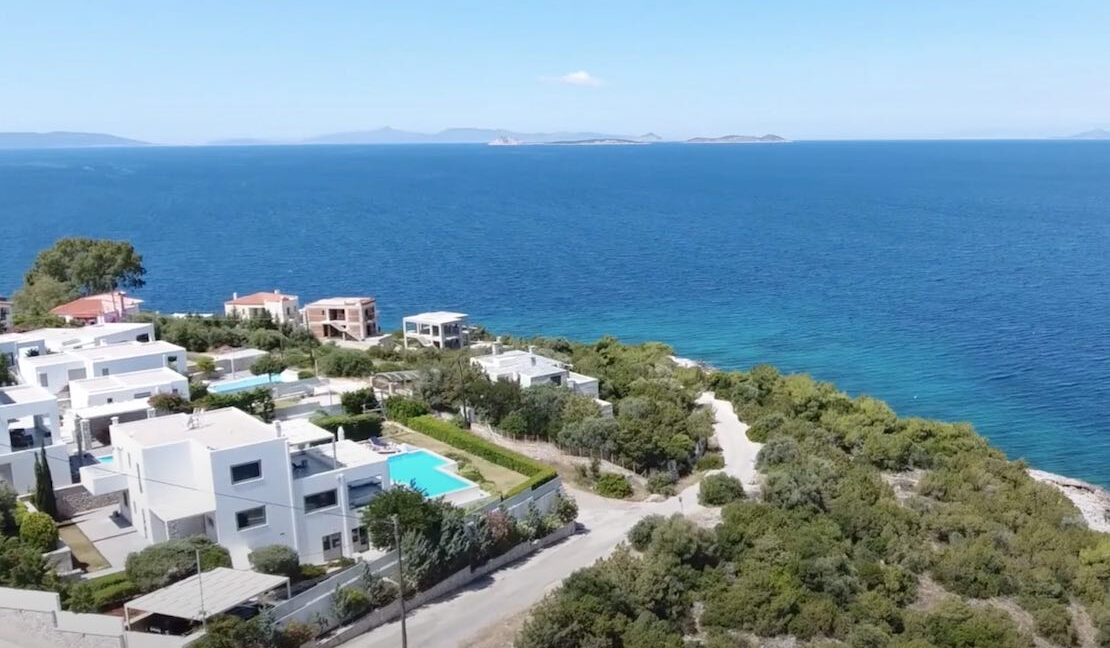 Sea View Villa in Peloponnese, 1 hour from Athens, Seafront Properties in Greece, seafront houses Mainland Greece 7