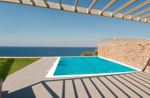Sea View Villa in Peloponnese, 1 hour from Athens, Seafront Properties in Greece, seafront houses Mainland Greece