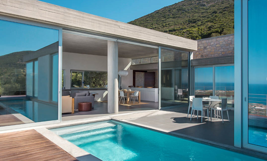 Sea View Villa in Peloponnese Greece, near Monemvasia. Property in Peloponnese Greece, Top Villas in Greece for Sale 12