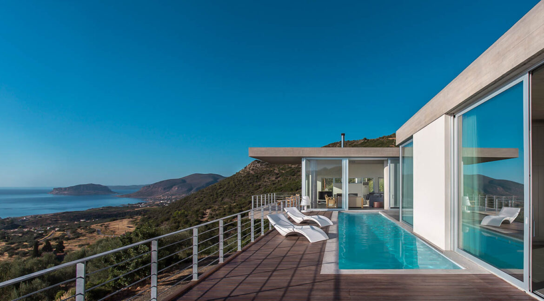 Sea View Villa in Peloponnese Greece, near Monemvasia. Property in Peloponnese Greece, Top Villas in Greece for Sale 21