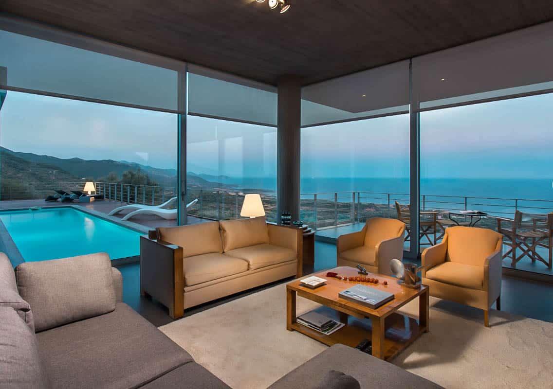 Sea View Villa in Peloponnese Greece, near Monemvasia