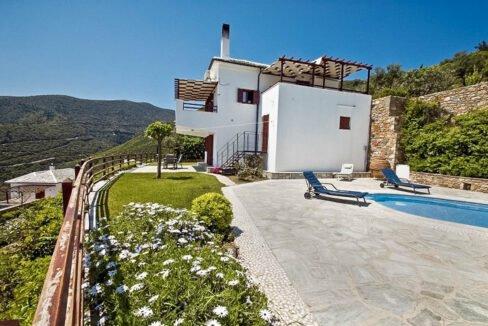 Sea View Villa in Skopelos Greek Island for sale, Skopelos Greece for Sale, Skopelos island home for sale. Properties in Greece 19