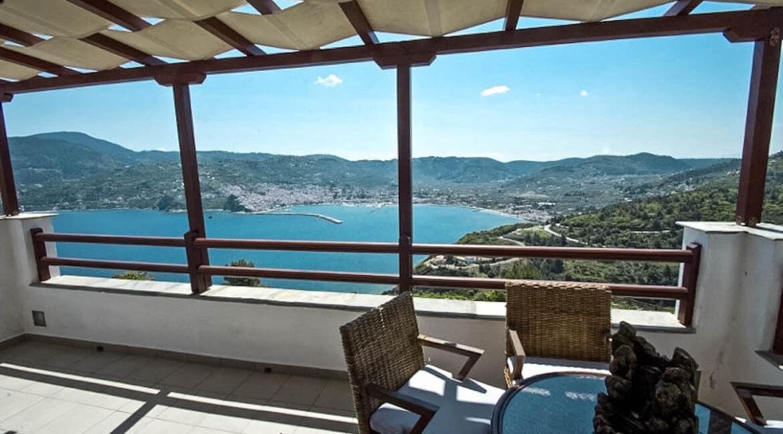 Sea View Villa in Skopelos Greek Island for sale, Skopelos Greece for Sale, Skopelos island home for sale. Properties in Greece 20