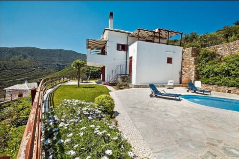 Sea View Villa in Skopelos Greek Island for sale, Skopelos Greece for Sale, Skopelos island home for sale. Properties in Greece 4