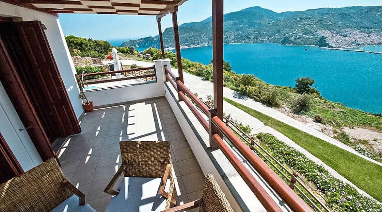 Sea View Villa in Skopelos Greek Island for sale, Skopelos Greece for Sale, Skopelos island home for sale. Properties in Greece 7