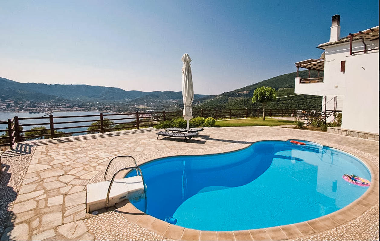 Sea View Villa in Skopelos Greek Island