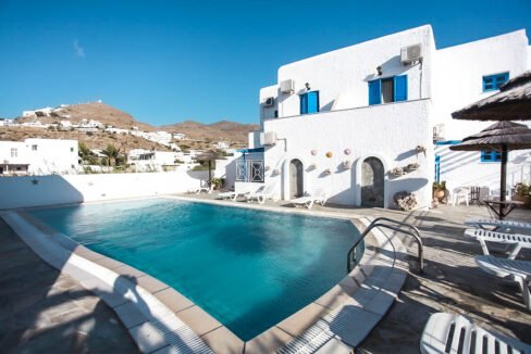 Seafront Hotel in Ios Cyclades Greece. Hotels for Sale Cyclades Greece, Investment in Greek Islands 2